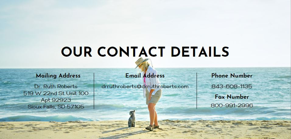 dr. ruth roberts contact details